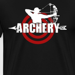 Archery T shirts - Men's Premium T-Shirt