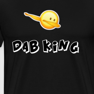 dab emojiiking dabbing football touchdown mooving - Men's Premium T-Shirt