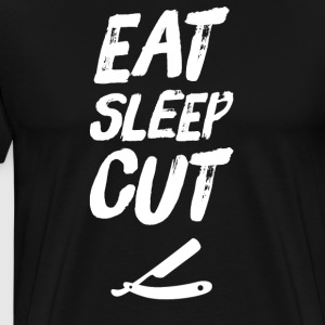 Eat Sleep Cut - Men's Premium T-Shirt