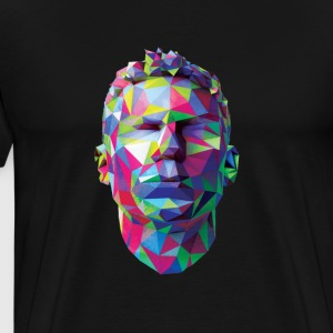 cristiano ronaldo version many color - Men's Premium T-Shirt