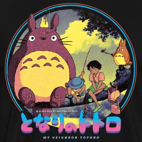 Tonari no Totoro - Men's Premium T-Shirt