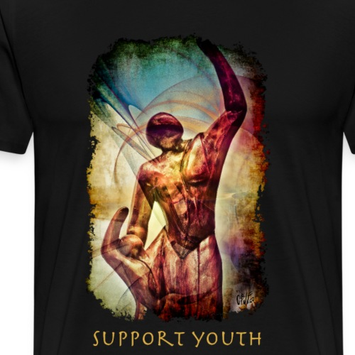 Support Youth - Men's Premium T-Shirt