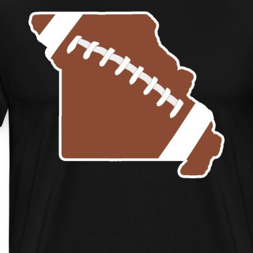 Football Missouri Fun Football Lover Gift - Men's Premium T-Shirt