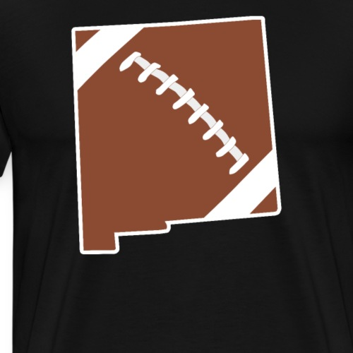 Football New Mexico Fun Football Lover Gift - Men's Premium T-Shirt