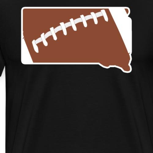 Football South Dakota Fun Football Lover Gift - Men's Premium T-Shirt