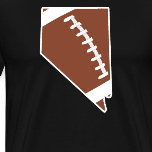 Football Nevada Fun Football Lover Gift - Men's Premium T-Shirt