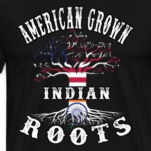American Grown Indian Roots - Men's Premium T-Shirt