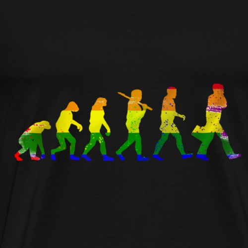 LGBT evolution - Men's Premium T-Shirt