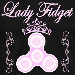 Fidget Spinner - Lady Fidget - Men's Premium T-Shirt