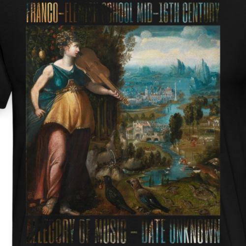 Allegory of Music - Men's Premium T-Shirt