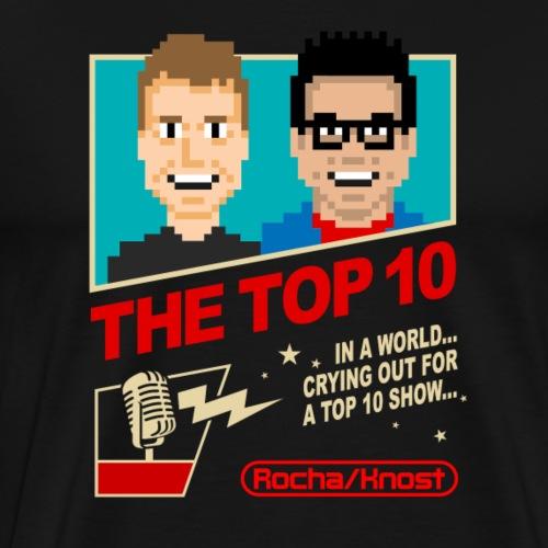 Top 10 8 Bit Design - Men's Premium T-Shirt