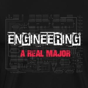 Engineering A Real Major - EE - Men's Premium T-Shirt