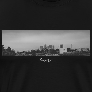 Los Angeles Skyline Panorama - Men's Premium T-Shirt