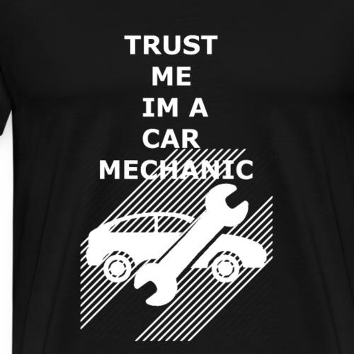 car mechanic - Men's Premium T-Shirt