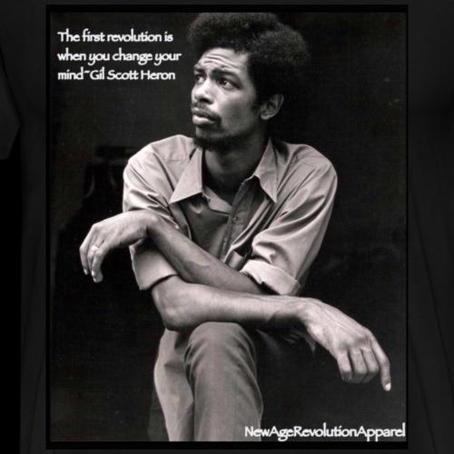 Revolutionary Gil Scott - Men's Premium T-Shirt