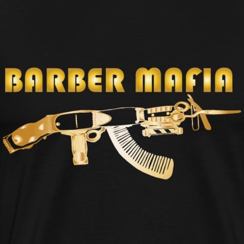 GOLD BARBER CLIPPER AK GUN - Men's Premium T-Shirt