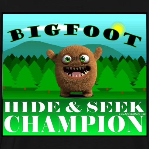 BIGFOOT Hide and Seek Champion - Men's Premium T-Shirt