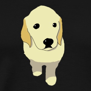 Golden Retriever puppy - Men's Premium T-Shirt