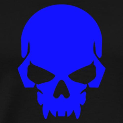 Royal Blue Skull - Men's Premium T-Shirt