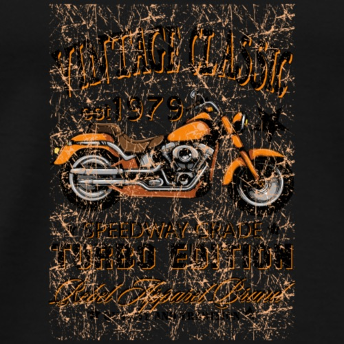 Vintage Classic Turbo Edition - Men's Premium T-Shirt