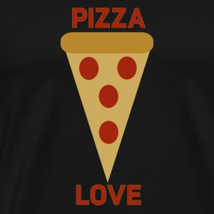 Pizza Love - Men's Premium T-Shirt