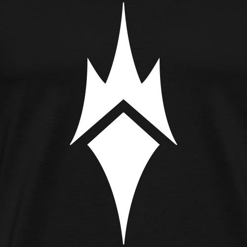Nocturnes logo (white) - Men's Premium T-Shirt
