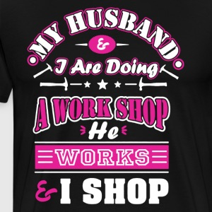 Mechanic Wife Shirt - Men's Premium T-Shirt