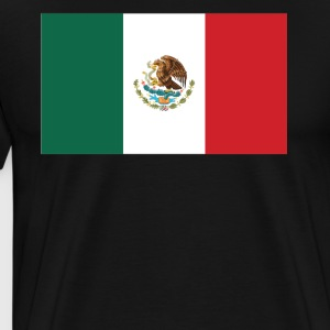 Flag of Mexico Cool Mexican Flag - Men's Premium T-Shirt
