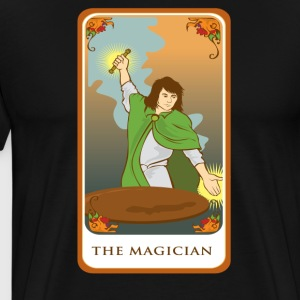The Magician Tarot Card Tee Shirt - Men's Premium T-Shirt