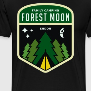 Family Camping Cyber System - Men's Premium T-Shirt