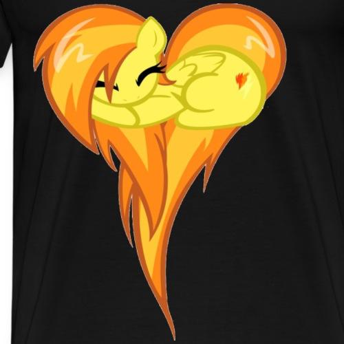 spitfire heart - Men's Premium T-Shirt