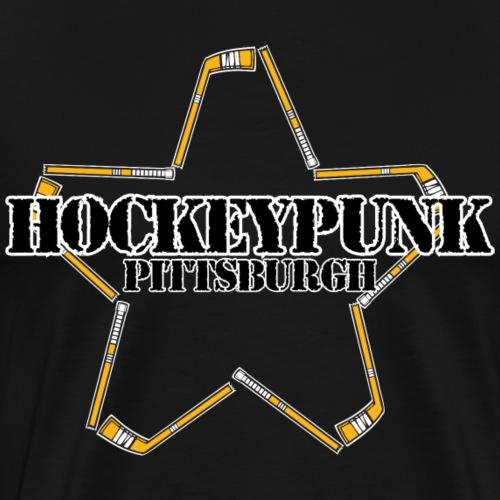 Pittsburgh Hockey Punk - Men's Premium T-Shirt