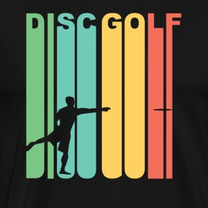 Vintage Disc Golf Graphic - Men's Premium T-Shirt