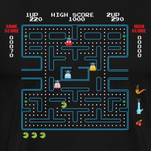 Stoner Pacman - Men's Premium T-Shirt