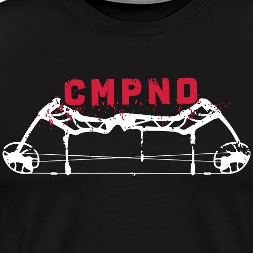 CMPND/Compound (Archery by BOWTIQUE) - Men's Premium T-Shirt