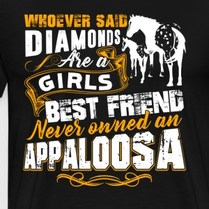 Appaloosa Horse Best Friend Shirt - Men's Premium T-Shirt