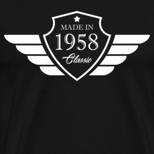 Made in1958 Tshirt 60th Birthday's Gift - Men's Premium T-Shirt