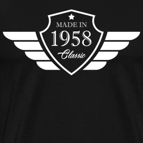 Made in1958 Tshirt 60th Birthday's Gift - Men's Premium T-Shirt