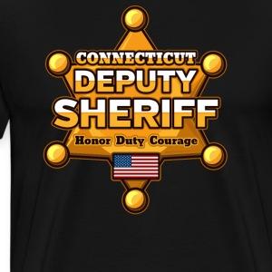 Connecticut Deputy Sheriff - Men's Premium T-Shirt
