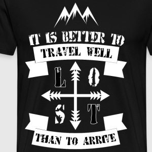Travel Quote - Men's Premium T-Shirt