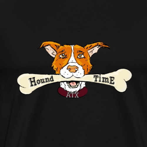 HoundTime Give A Dog A Bone (1) - Men's Premium T-Shirt