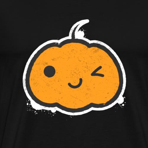 Cool Halloween Pumpkin - Men's Premium T-Shirt
