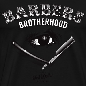 Barbers Brotherhood - Men's Premium T-Shirt