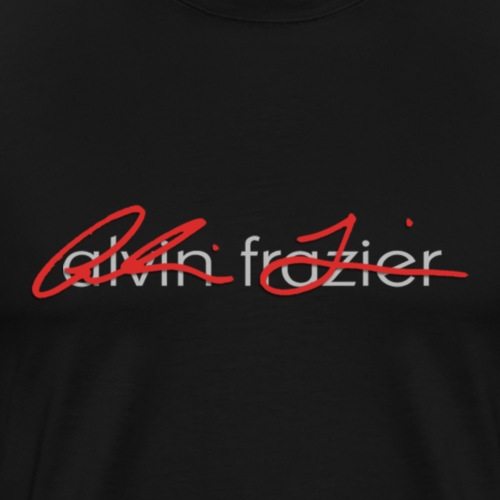 AF logo (white print) - Men's Premium T-Shirt
