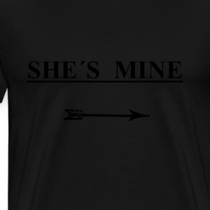 She´s mine - Men's Premium T-Shirt