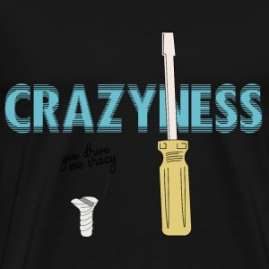 CREATIVE DESIGN || CRAZINESS - Men's Premium T-Shirt