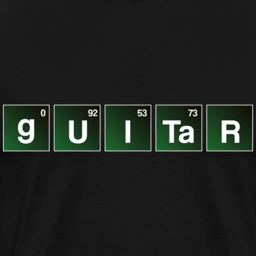 Guitar Bad Periodic Table Shirt - Men's Premium T-Shirt