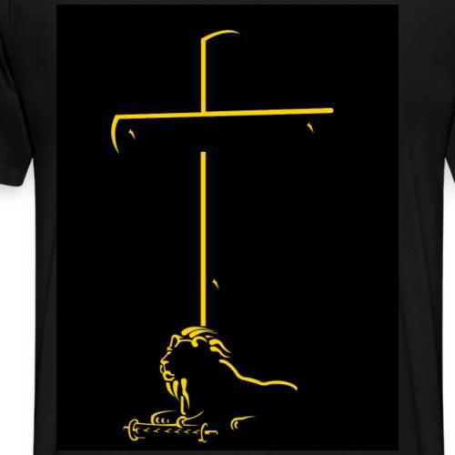 shadowcross without Lion of Judah - Men's Premium T-Shirt