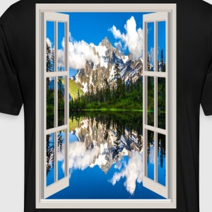 Window 1 - Men's Premium T-Shirt