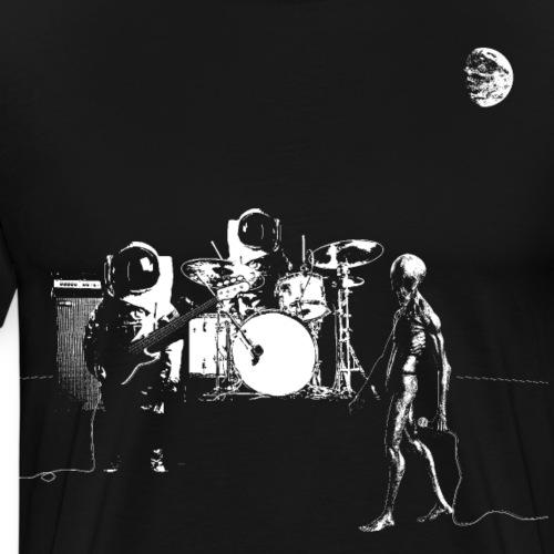 Space Band - Men's Premium T-Shirt